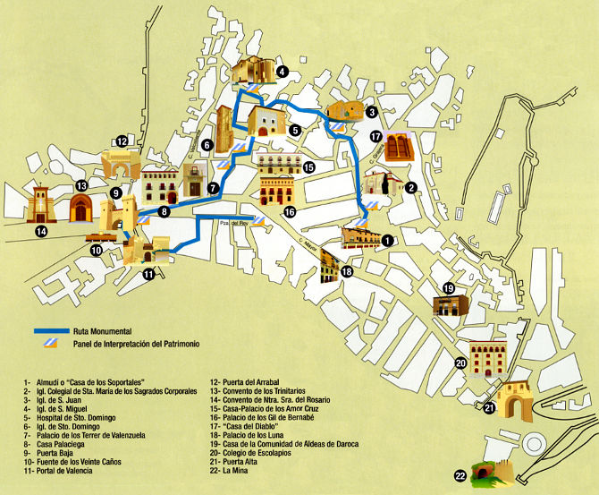 Mapa Ruta Monumental