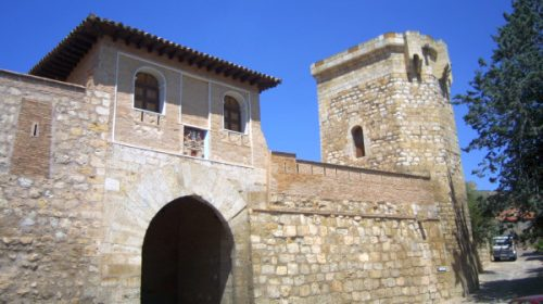 Puerta Alta y Torre de los Huevos