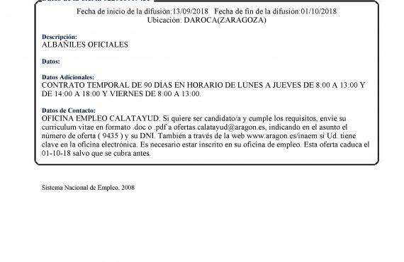 Empleo Y Formación Ayuntamiento De Daroca