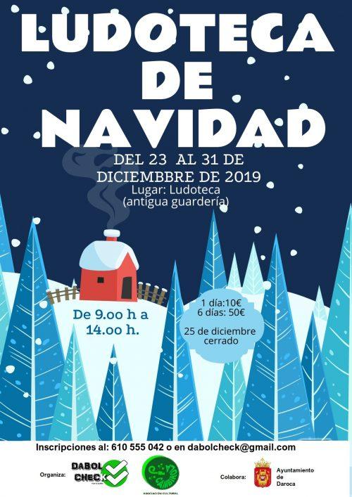 Ludoteca en Daroca para Navidad 2019