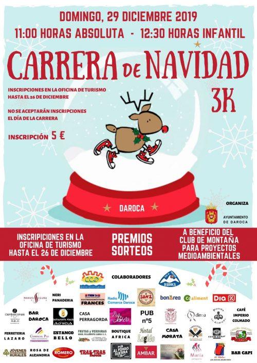 3K carrera de Navidad Daroca