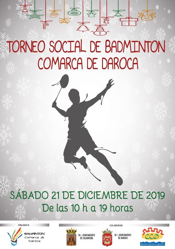 Torneo social de bádminton en Daroca