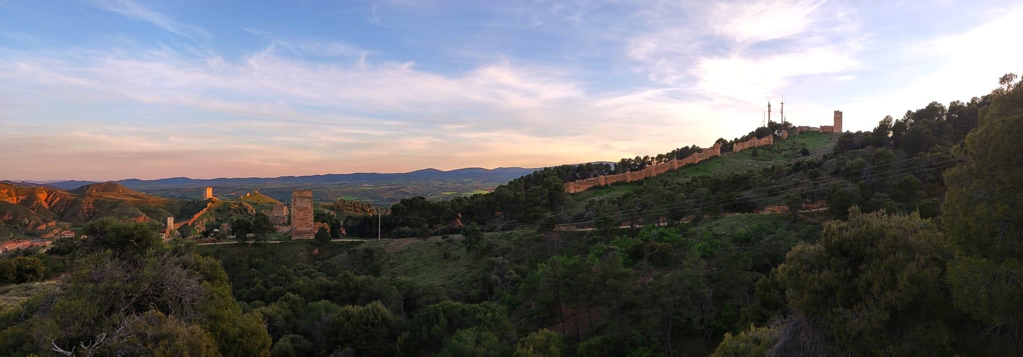 Imagen de Daroca desde su pinar. Autor. Carmen Ubide
